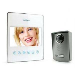 avidsen videocitofono ultrapiatto 7 pollici touch bianco 112211