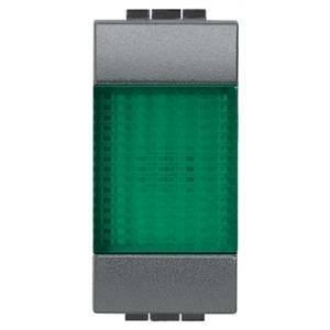 bticino bticino living international gemma luminosa con diffusore verde l4371v