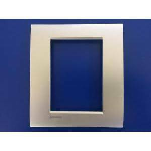 bticino livinglight air placca 3+3 moduli colore  tech lnc4826te