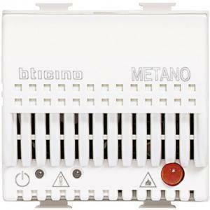 bticino bticino matix rivelatore fughe di  gas metano 2 moduli colore bianco am5731/12