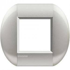bticino livinglight placca 2 modulicolore  tech lnb4802te