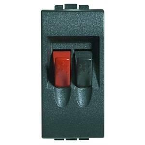 bticino living international connettore audio rosso e nero per casse l4294