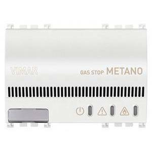 vimar vimar arke rivelatore elettronico metano 230v bianco 19420.b