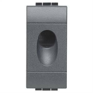 bticino livinglight tasto copriforo con foro da 9mm l4953