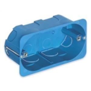 vimar scatola incasso 4 moduli per cartongesso colore azzurro v71704