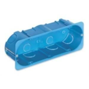 vimar scatola incasso 6-7 moduli per cartongesso colore azzurro v71706