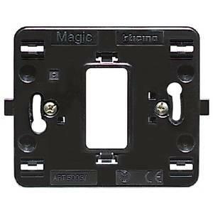 bticino bticino magic supporto 1 modulo scatola tonda 500s/1