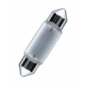 osram blister 2 lampadine per auto a siluro 10w attacco sv8.5-8 a6411bli2