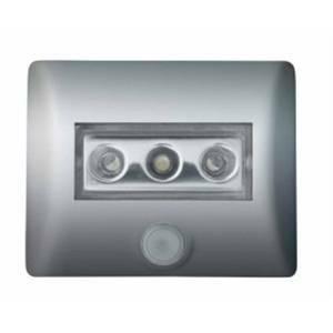 osram lampada notturna 3 led con sensore colore silver 0.3w nightluxsi