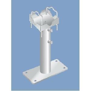 dina fava zanca telescopica altezza regolabile cm.20-40 con piastra 1577