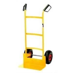 elettroservice carrello per casse sacchi fusti con ruote pneumatiche u090105003