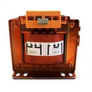 lef trasformatore monofase 100va 230.400v / 12w24v ts010c24