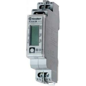 finder contatore di energia digitale 7e2382300000 7e.23.8.230.0000