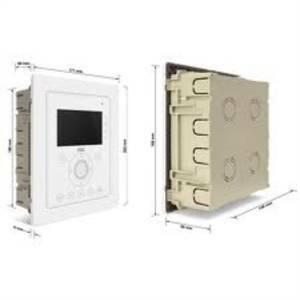 urmet scatola incasso con cornice per videocitofono aiko 1716/60