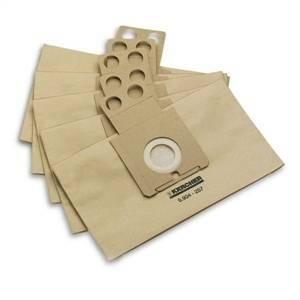 karcher 5 sacchetti ricambio per rc3000 6.904-257.0 6904257
