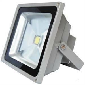 century proiettore led 30w luce naturale per esterno colore grigio kb-308540