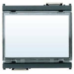 vimar idea pulsante con targhetta 1 polo no 10a colore grigio 16190 0r16190