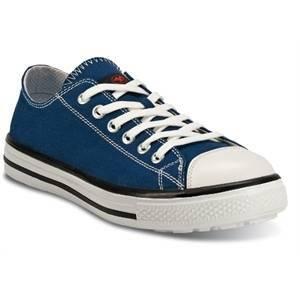 ftg safety shoes scarpa bassa modello blues cotone rinforzato colore blu numero 43 blues-low/43 s1p src