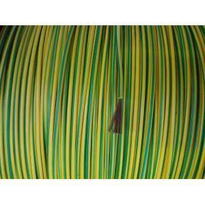 cavi al metro cordina unipolare sezione 2,5 mm giallo/verde n07v-k1x2,5gv