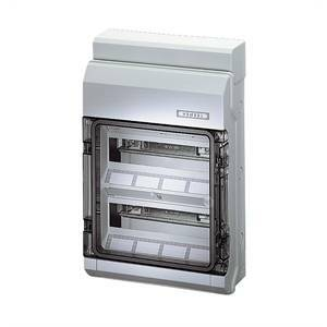 gustav hensel gmbh & co. kg centralino 24 moduli ip65 kv8224