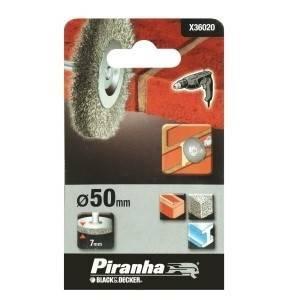 black & decker spazzola circolare con fili di acciaio 50mm. x36020-xj