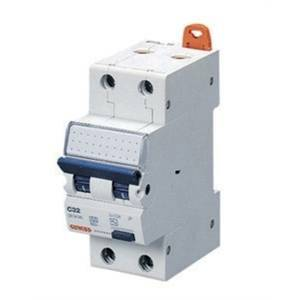 gewiss interruttore magnetotermico con differenziale 2p 16a 6ka gw94127