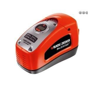 black & decker compressore aria portatile 160 psi / 11 bar asi300-qs