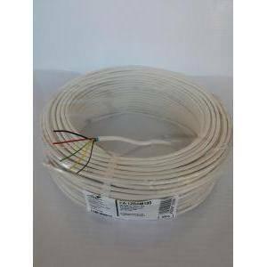 itc al metro cavo allarme 6 fili di cui 4x0,22 mm + 2x0,5 mm fa-12bam100