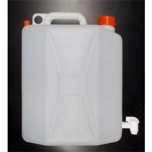 elettroservice tanica in plastica per alimenti da 20 litri con rubinetto c040115120