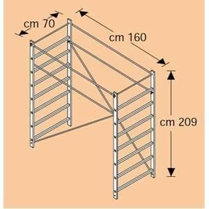 faraone modulo terminale per rapido 160 rapido/163