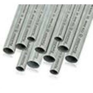 euro 2000 tubo rigido in acciaio zincato da 3mt d 50mm tzr50/3m