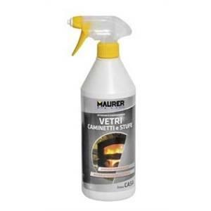 maurer pulitore vetri per camini e stufe 500ml w020595015