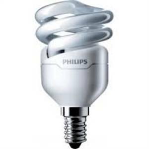 philips lampadina fluorescente attacco piccolo e14 8>43w luce fredda mtor12y8e14cdl
