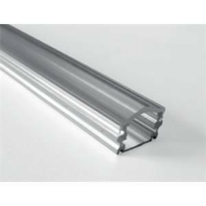 nobile illuminazione profilo alluminio con copertura per striscia led 2 mt barra/strip/2/m2