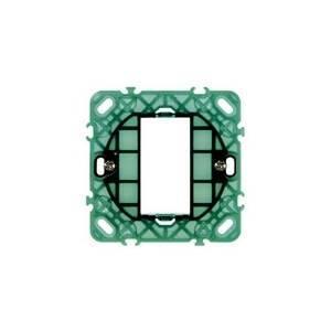 vimar vimar plana supporto a 1 modulo con griffe 14601