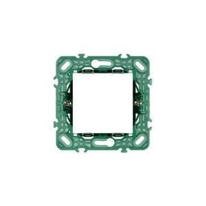 vimar vimar plana supporto a 2 moduli con griffe 14602