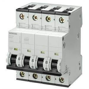siemens interruttore magnetotermico 4 poli 40a 10ka 5sy4440-7