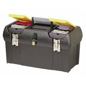 stanley stanley cassetta 24'' serie 2000 con cerniera in metallo 1-92-067
