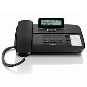 siemens telefono con filo vivavoce direct colore nero da710b