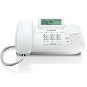 siemens telefono con filo e vivavoce direct colore bianco da710w