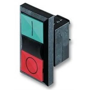 siemens pulsante doppio luminoso verde/rosso 3sb31018bc21