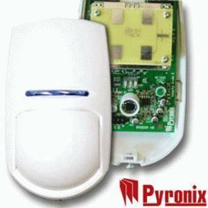 pyronix rivelatore doppia tecnologia 15mt con staffa pykx15dt