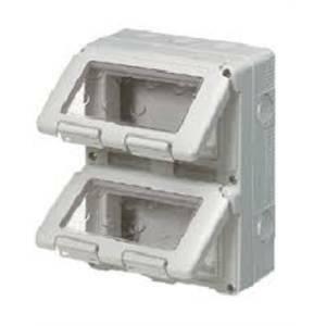 gewiss contenitore 8 moduli (4x2) verticale gw27051