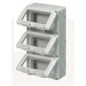 gewiss contenitore stagno 12 moduli (4x3) ip55 verticale gw27052
