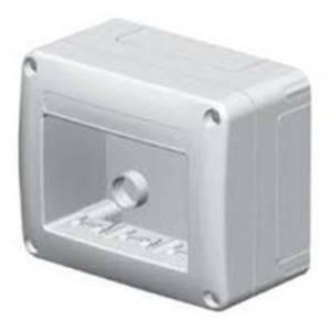 gewiss scatola porta apparecchi 3 posti colore bianco gw27615