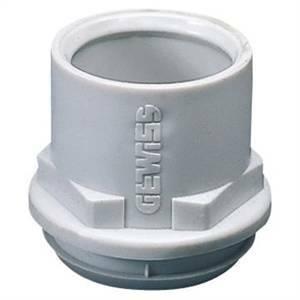 gewiss raccordo tubo/cassetta in polimero flessibile - foro diametro 29mm - per tubo diametro 20mm gw50423