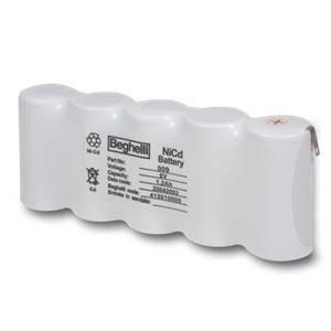 beghelli batteria 6v 1,2ah 8821h