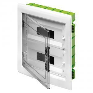 gewiss centralino incasso 24 moduli (12x2) colore verde gw40606pm