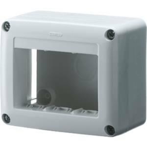 gewiss scatola porta apparecchi 4 posti system bianca gw27621