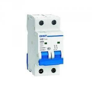chint interruttore magnetotermico 2p 40a 6ka nb1-63 51211